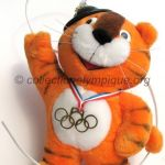 1988 Seoul olympic mascot, Hodori the tiger, plush height 32 cm
