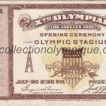 1932_los_angeles_billet_olympique_ceremonie_ouverture_recto
