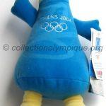2004 Athènes mascotte olympique, Phivos, peluche hauteur 30 cm