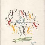 1984 Los Angeles olympic opening ceremony program