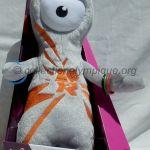 2012 Londres mascotte olympique, Wenlock, peluche hauteur 32 cm