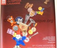 2002 Lausanne poster 8th World Olympic Collectors Fair large model