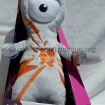 2012 London olympic mascot, Wenlock, plush height 32 cm
