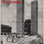 1936 Berlin olympic opening ceremony program