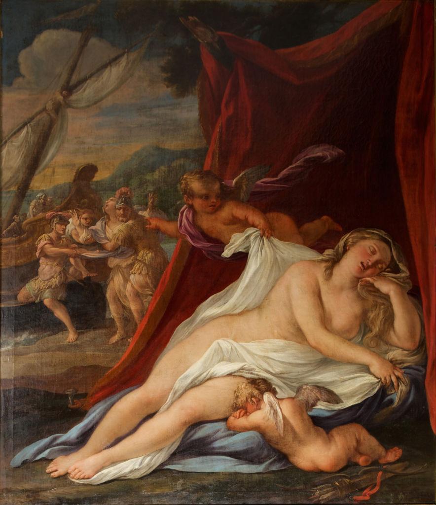 Ariadne Abandoned By Theseus Agostino Scilla 1629 1700