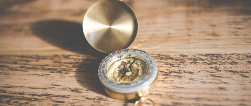 compass what values guide you