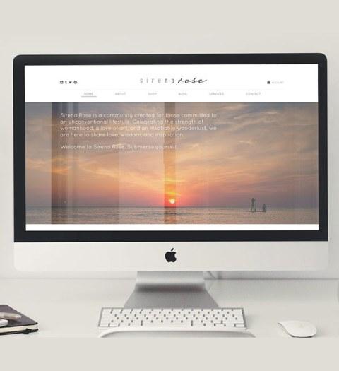Sirena Rose Lifestyle Website