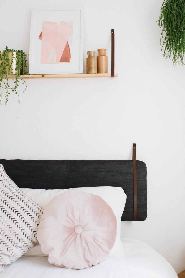 diy cushion headboard an easy ikea
