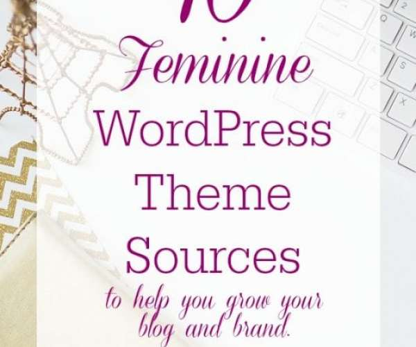 Feminine Themes for WordPress