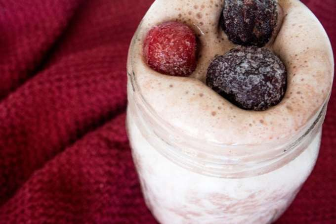 Cheery Bliss Protein Smoothie