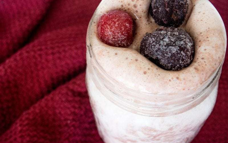 Cherry Bliss Protein Smoothie