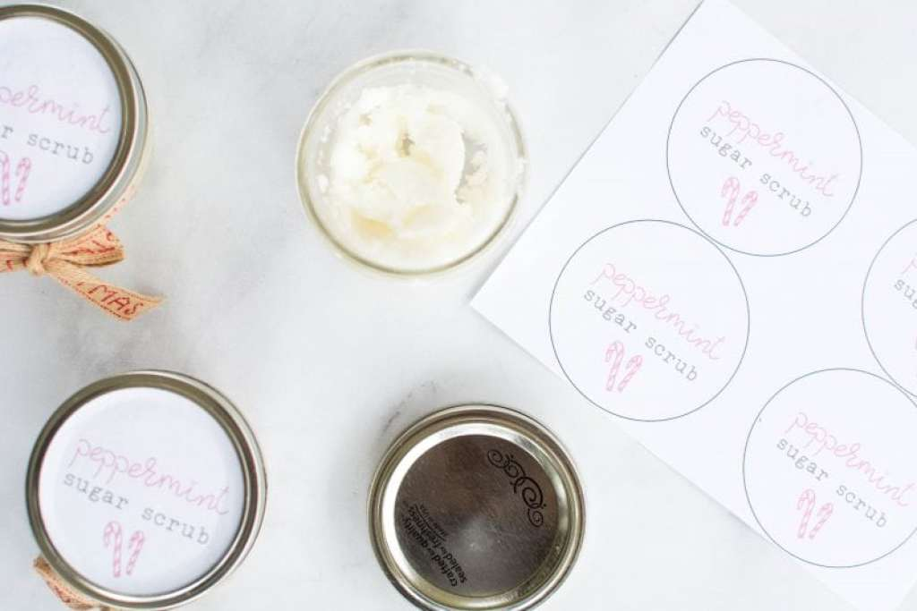 mason jar lid labels tutorial