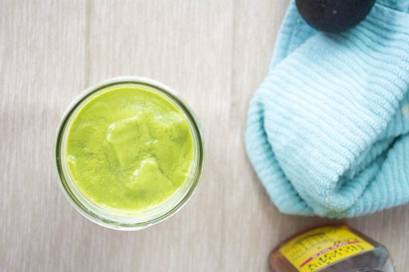 Green Power Smoothie with Amazing Grass Protein Superfood