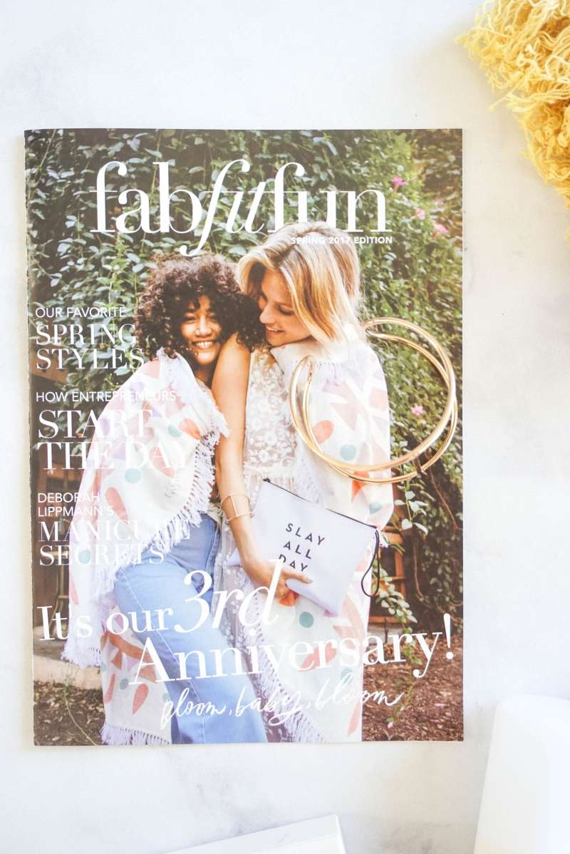 fabfitfun spring 2017 subscription box