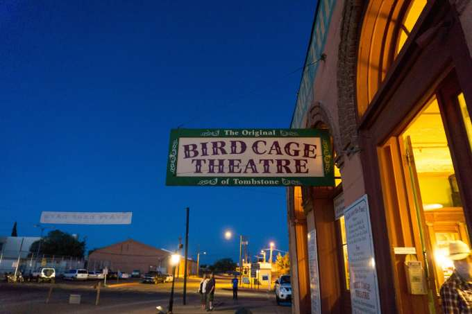 Bird Cage Theatre Ghost Tour Things to do in Tombstone, AZ