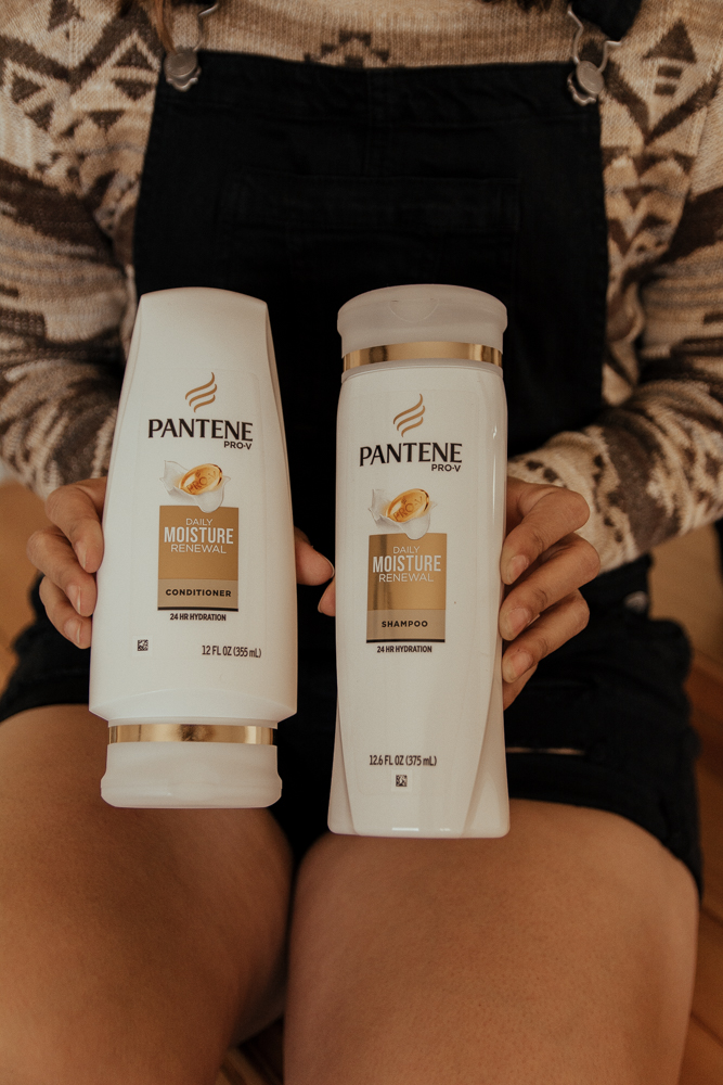 Pantene 14 Day Hair Challenge Moisture Renewal Collection