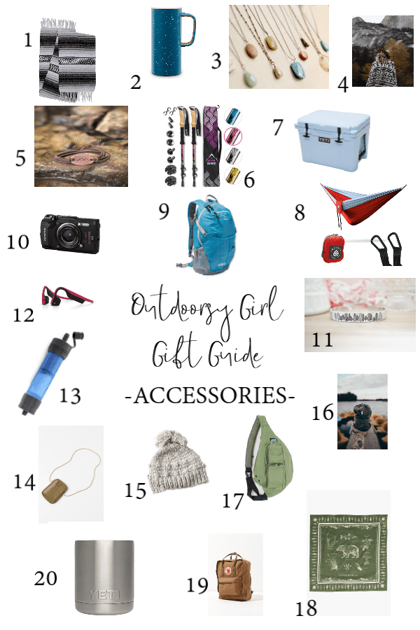 Outdoorsy Girl Gift Guide: 65 products the the nature girl in your life or for yourself ;).