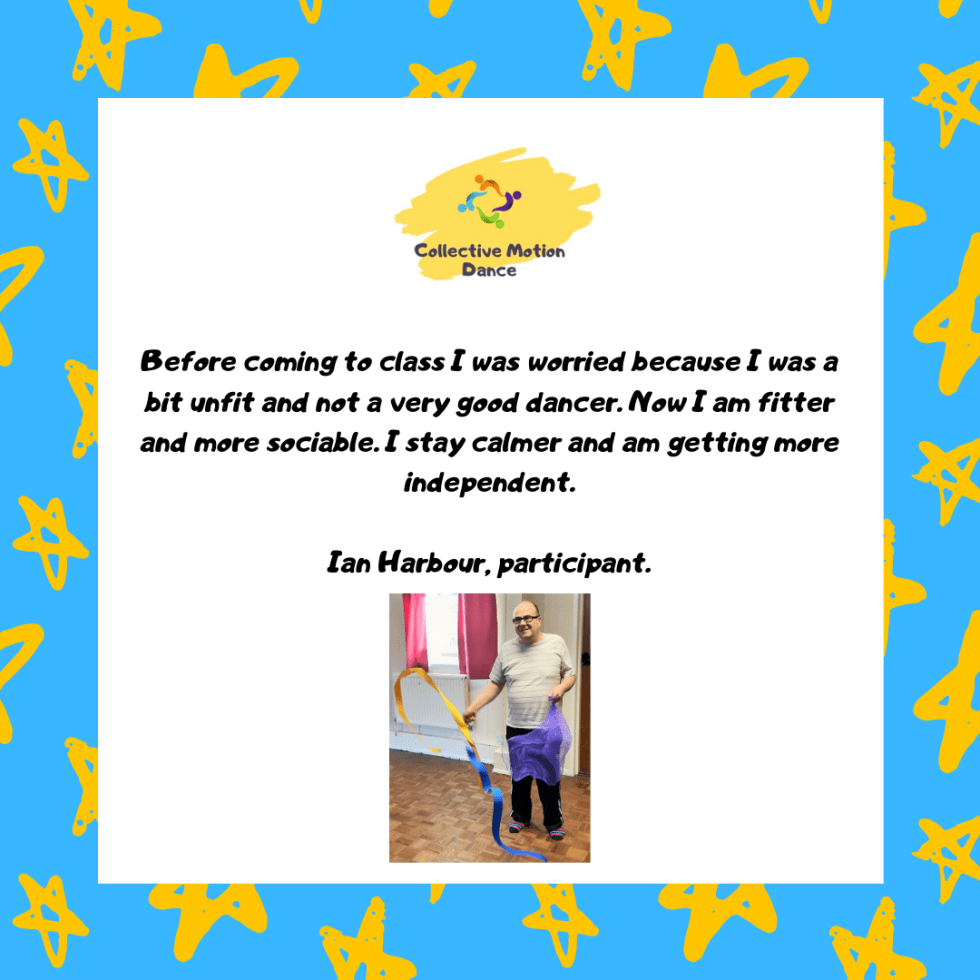 Learning Disability Dance Participant Testimonial