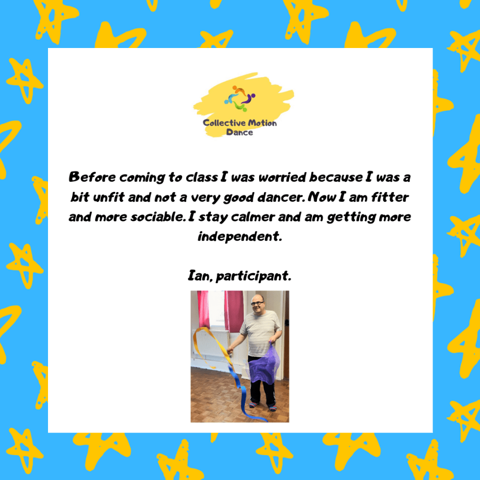 Learning Disability Dance Classes Participant Testimonial