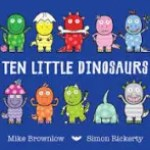 10 Little Dinosaurs Front Cover