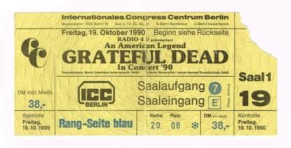 ICC ticket