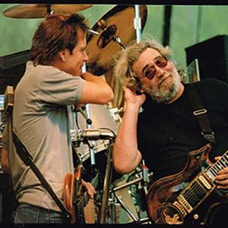 Jerry Garcia and Bob Weir at Telluride, Co