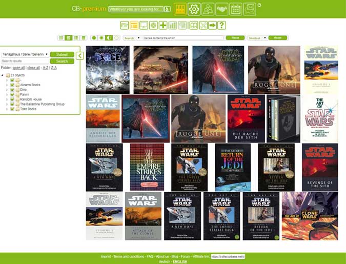 The art of STAR WARS on COLLECTORBASE.net