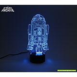 R2-D2 LED Acrylic light