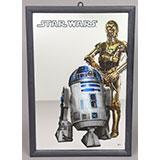 R2-D2 & C-3PO Mirror / Kids Euroswan