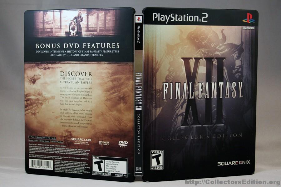 Final Fantasy XII Collectors