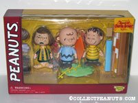 Peppermint Patty, Charlie Brown and Linus Playset