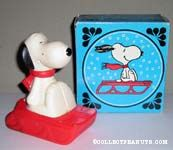 Snoopy Snow Flyer Bubble Bath