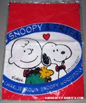 40th Anniversary Logo with Snoopy, Charlie Brown & Woodstock drawstring Bag
