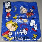 Peanuts Gang scenes Shoe Case drawstring Bag