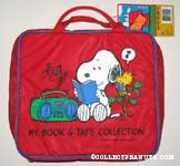 Snoopy Reading Book with Radio