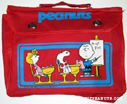 Sally, Snoopy and Charlie Brown