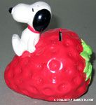 Snoopy on a Strawberry
