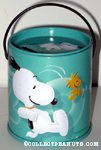 Snoopy & Woodstock Jumping Bucket Bank