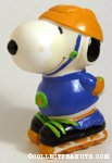 Snoopy rollerskating Bank