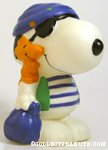 Snoopy pirate with Woodstock Bank