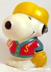 Snoopy baseball player Bank
