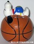 Snoopy on Basketball