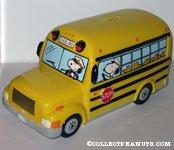 Peanuts Gang School Bus Bank