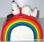 Snoopy on Rainbow