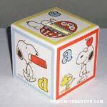 Snoopy and Woodstock Alphabet Block
