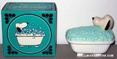 Snoopy's Bubble Bath Tub