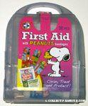 Peanuts First Aid Kit - Purple