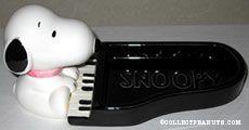 Snoopy at Piano Soap Dish
