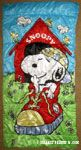 Snoopy in Shoe Sleeping Bag