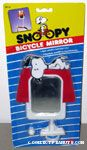 Snoopy on doghouse bicycle Mirror